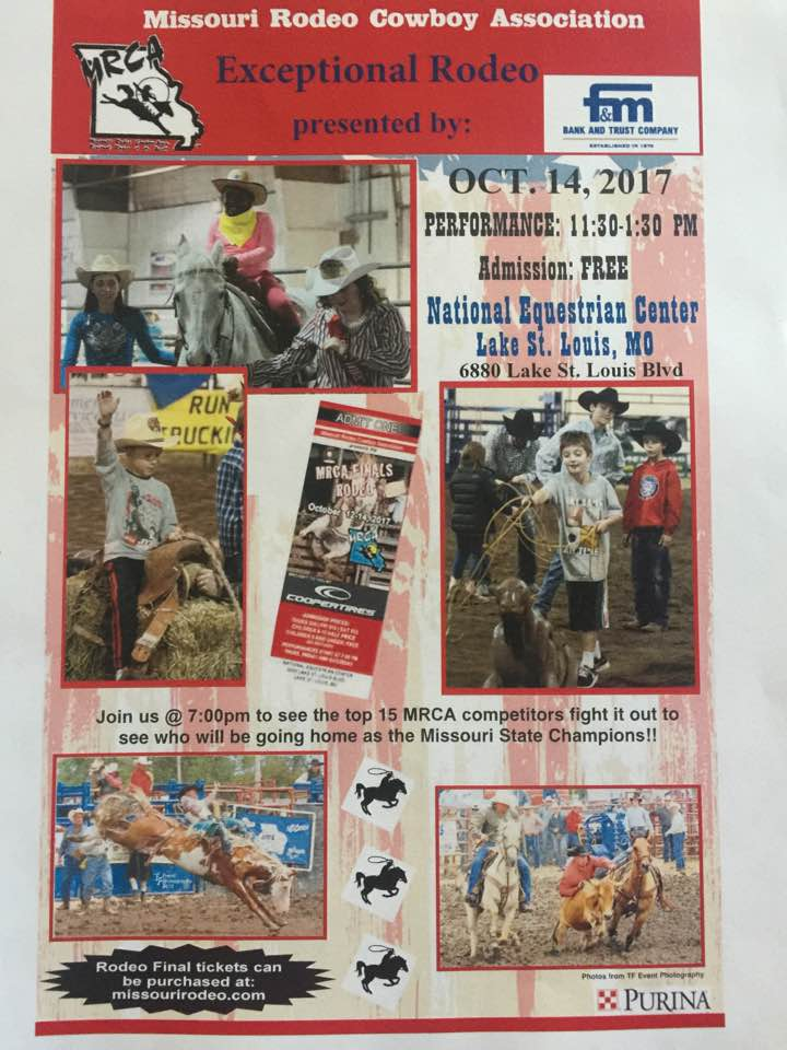 Missouri Rodeo Cowboys Association Mrca